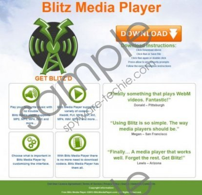 Blitz Media Player Removal Guide