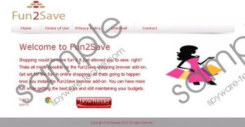 Fun2Save Removal Guide