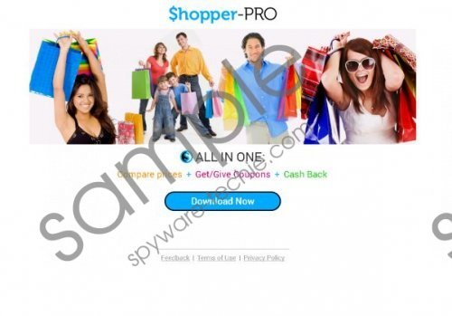 ShopperPro Removal Guide