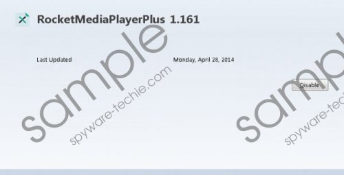 Rocket media player Removal Guide