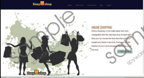 EasyShop ads Removal Guide