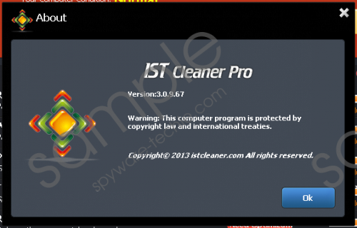 IST Cleaner Pro Removal Guide