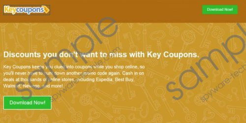 Keycoupons Removal Guide