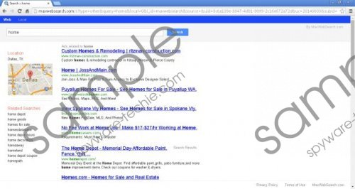 Maxwebsearch.com Removal Guide