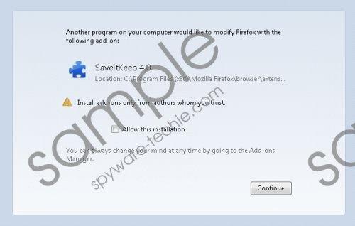 SaveitKeep Removal Guide