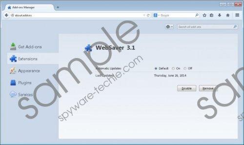 Websaver Removal Guide
