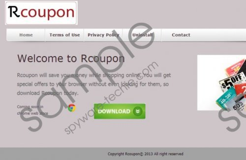 Rcoupon Removal Guide
