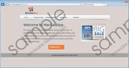 Macsaleapp ads Removal Guide