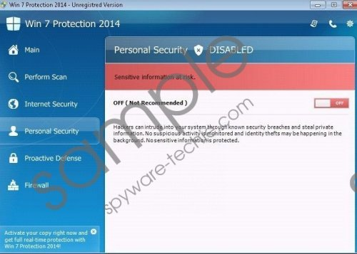 Win 7 Antispyware 2014 Removal Guide