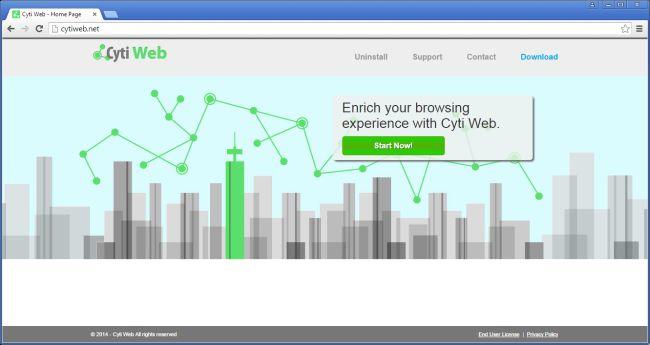 Cyti Web Removal Guide