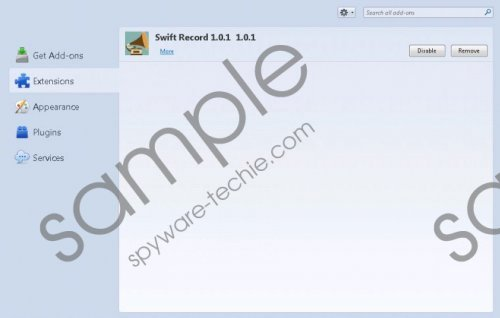 Swift Record Removal Guide