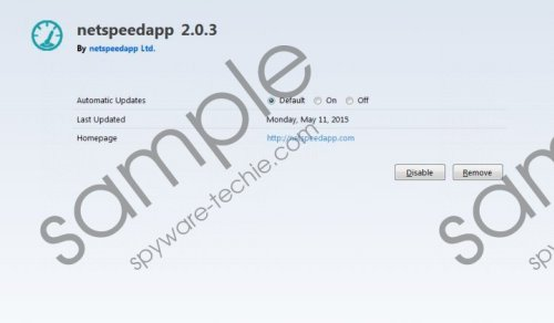 Netspeed Ads Removal Guide