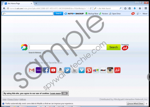 AutoPcBackup Toolbar Removal Guide