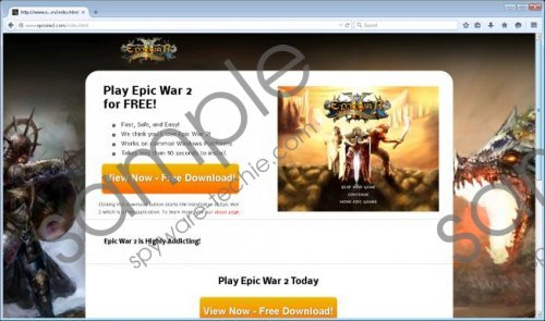 Epic War 2 by Rapid Advance Removal Guide