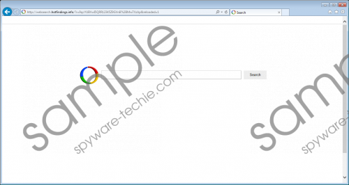 Websearch.hotfindings.info Removal Guide