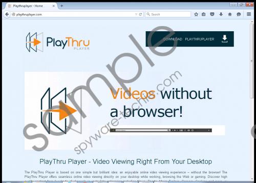 PlayThru Player Removal Guide