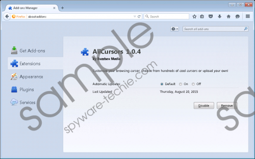 AllCursors Removal Guide
