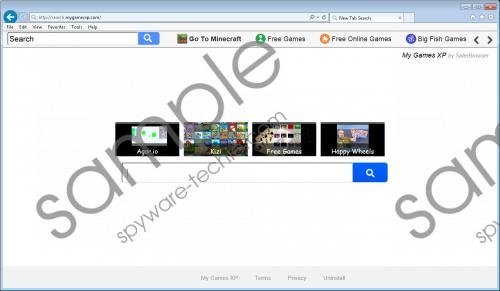Search.mygamesxp.com Removal Guide
