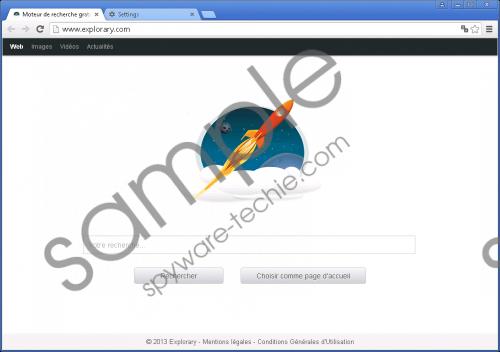 Explorary.com Removal Guide