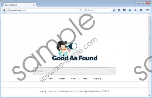 Goodasfound.com Removal Guide