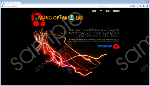 MusicOptimizerLab Removal Guide