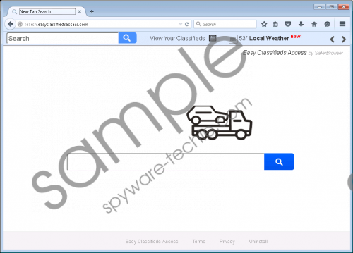 Search.easyclassifiedsaccess.com Removal Guide