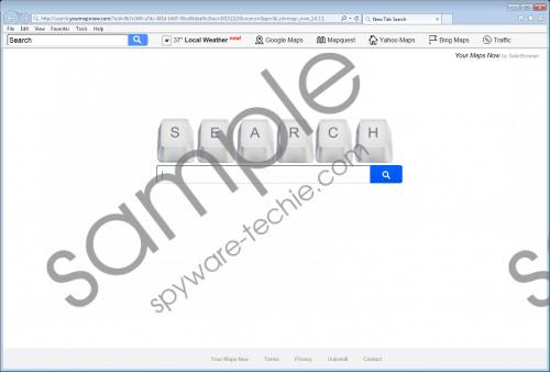 Yourmapsnow.com Removal Guide