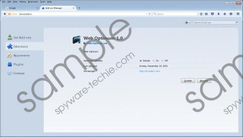 WebOptimum Removal Guide