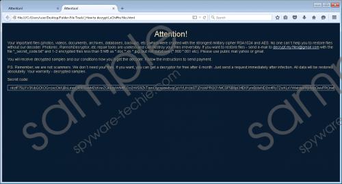 LeChiffre Ransomware Removal Guide