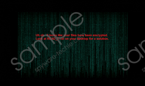 Locked Ransomware Removal Guide