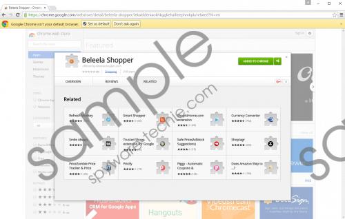 Beleela Shopper Removal Guide