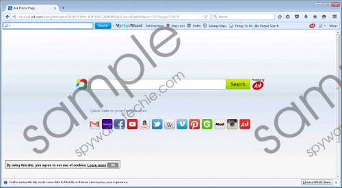 MyMapsWizard Toolbar Removal Guide