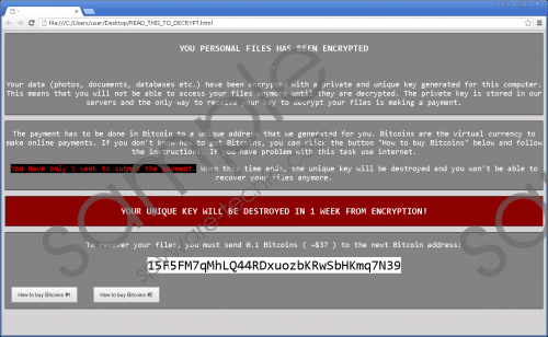 Crypren Ransomware Removal Guide