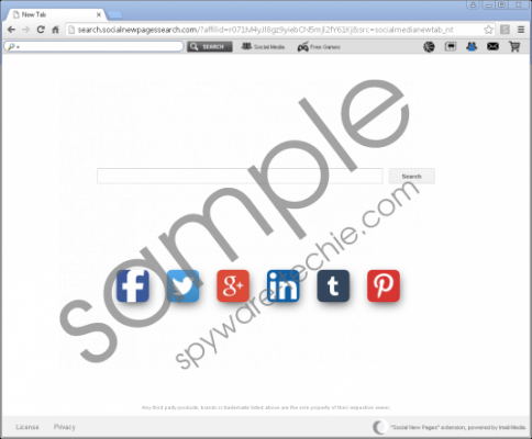 Search.socialnewpagessearch.com Removal Guide