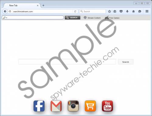 Searchinvietnam.com Removal Guide