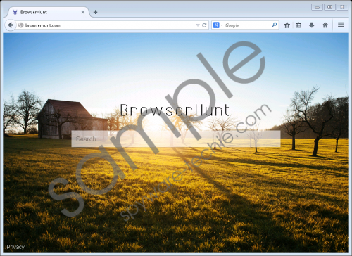 Browserhunt.com Removal Guide