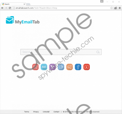 Emailtabsearch.com Removal Guide