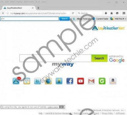 EasyWeatherAlert Toolbar Removal Guide