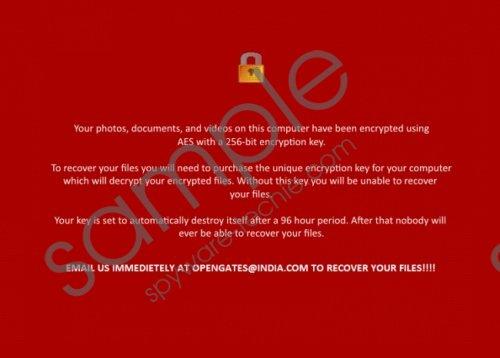 Nuke Ransomware Removal Guide