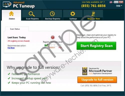 Advanced PC Tuneup Removal Guide
