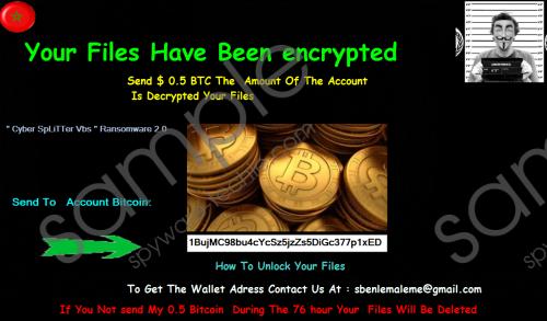 CyberSplitter 2.0 Ransomware Removal Guide