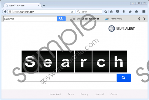 Search searchnda com Removal Guide | Spyware Techie