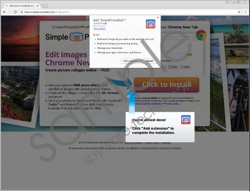 SimplePictureEdit Toolbar Removal Guide