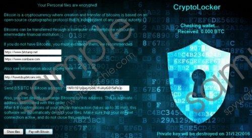 Cryptolocker3 Ransomware Removal Guide
