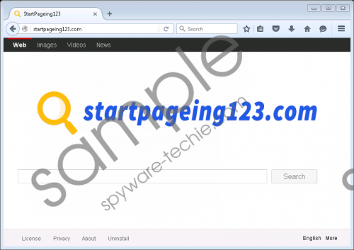Startpageing123.com Removal Guide