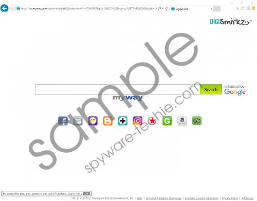 DigiSmirkz Toolbar Removal Guide