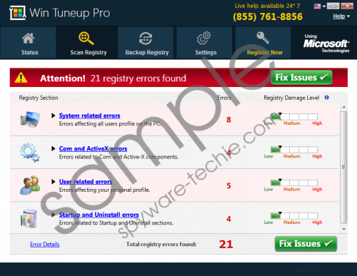 Win Tuneup Pro Removal Guide