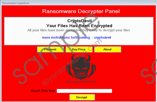 CryptoDevil Ransomware Removal Guide