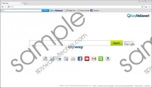 EasyFileConvert Toolbar Removal Guide