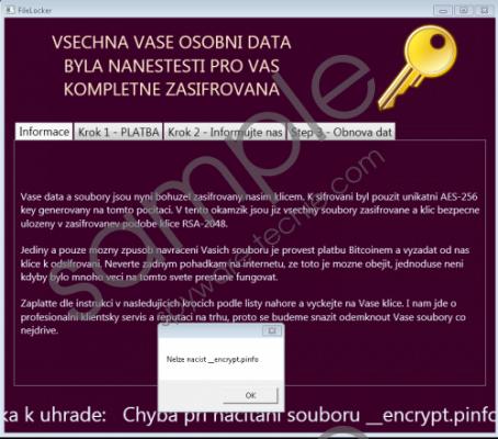 FileLocker Ransomware Removal Guide
